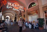 Caffé Torino auf der Piazza San Carlo in Turin (Torino), Piemont, Italien