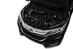 Car stock 2019 Honda HR-V LX 5 Door SUV engine high angle detail view