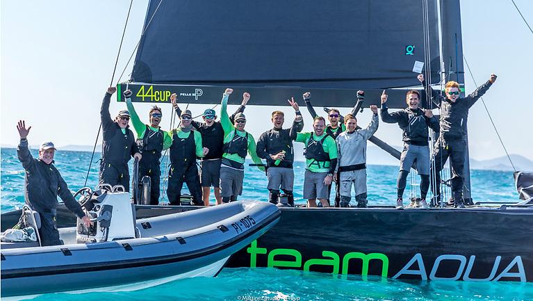 Team Aqua, World Champions 2021 - Powered by Quantum Sails