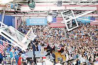 Hillary Clinton - Bernie Sanders - Sanders Endorses Clinton - Portsmouth, NH - 12 July 2016