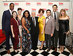 Quinten Oliver Lee, Kaley Ann Vorhees, Bryonha Marie Parham, Hal Prince, Janet Dacal, Brandon Uranowitz, Michael Xavier and Emily Skinner attends the 2017 Manhattan Theatre Club Fall Benefit honoring Hal Prince on October 23, 2017 at 583 Park Avenue in New York City.