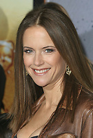 """12 July 2020 - Actress and wife of John Travolta Kelly Preston dead at age 57 from breast cancer.27 February 2007 - Hollywood, California - Kelly Preston. """"Wild Hogs"""" Los Angeles Premiere held at the El Capitan Theatre. Photo Credit: Charles Harris/AdMedia"""
