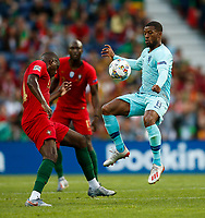 William Carvalho of Portugal and Georginio Wijnaldum of Netherlands during the UEFA Nations League Final match between Portugal and Netherlands at Estadio do Dragao on June 9th 2019 in Porto, Portugal. (Photo by Daniel Chesterton/phcimages.com)<br /> Finale <br /> Portogallo Olanda<br /> Photo PHC/Insidefoto <br /> ITALY ONLY