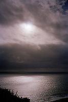 Sunlight on ocean<br />