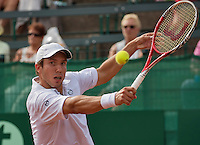 The Hague, Netherlands, 26 July, 2016, Tennis,  The Hague Open, Igor Sijsling (NED)<br /> Photo: Henk Koster/tennisimages.com
