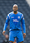 Motherwell v St Johnstone.....16.04.11  Scottish Cup Semi-Final.Michael Duberry.Picture by Graeme Hart..Copyright Perthshire Picture Agency.Tel: 01738 623350  Mobile: 07990 594431