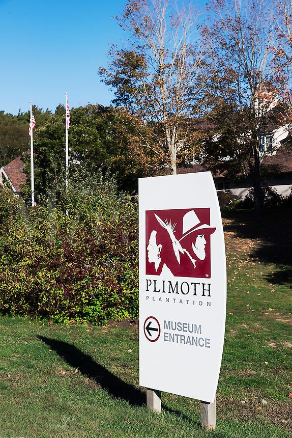 Plimouth Plantation living history museum, Plymouth, Massachusetts, USA