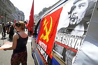 - Milan, demonstration of April 25, anniversary of Italy's Liberation from the nazifascism<br /> <br /> - Milano, manifestazione del 25 aprile, anniversario della Liberazione dell'Italia dal nazifascismo