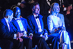 Chris Detrick  |  The Salt Lake Tribune<br /> Mitt Romney, Ann Romney and Evander Holyfield watch the boxing matches at the Rail Event Center Friday May 15, 2015. Friday's Romney-Holyfield showdown will raise about $1 million for CharityVision, a 20-year-old nonprofit dedicated to saving the eyesight of impoverished people in developing nations.