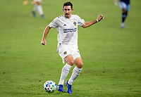 CARSON, CA - OCTOBER 18: Sacha Kljestan #16 of the Los Angeles Galaxy moves with ball during a game between Vancouver Whitecaps and Los Angeles Galaxy at Dignity Heath Sports Park on October 18, 2020 in Carson, California.