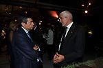 """MAURIZIO LUPI CON PIERFERDINANDO CASINI<br /> PRESENTAZIONE SIGARO TOSCANO """"ORIGINALE 1815"""" MST - VILLA AURELIA  ROMA 2015"""