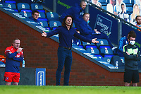 Wycombe Wanderers manager Gareth Ainsworth reacts<br /> <br /> Photographer Richard Martin-Roberts/CameraSport<br /> <br /> The EFL Sky Bet Championship - Blackburn Rovers v Wycombe Wanderers - Saturday 19 September 2020 - Ewood Park - Blackburn<br /> <br /> World Copyright © 2020 CameraSport. All rights reserved. 43 Linden Ave. Countesthorpe. Leicester. England. LE8 5PG - Tel: +44 (0) 116 277 4147 - admin@camerasport.com - www.camerasport.com