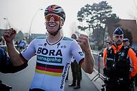 German National Champion Pascal Ackermann (GER/Bora Hansgrohe) race winner<br /> <br /> <br /> Bredene Koksijde Classic (2019) ( former Handzame Classic )<br /> Bredene > Koksijde 199km (BEL)<br /> <br /> ©kramon