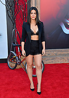 """LOS ANGELES, USA. August 27, 2019: Emeraude Toubia at the premiere of """"IT Chapter Two"""" at the Regency Village Theatre.<br /> Picture: Paul Smith/Featureflash"""