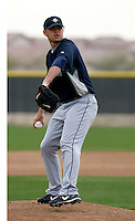 Gaby Hernandez -  Seattle Mariners - 2009 spring training.Photo by:  Bill Mitchell/Four Seam Images
