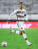 201118 -- SPLIT, Nov. 18, 2020 -- Cristiano Ronaldo of Portugal competes during the UEFA Nations League football match against Croatia at Poljud Stadium in Split, Croatia, Nov. 17, 2020. /Pixsell via Xinhua SPCROATIA-SPLIT-FOOTBALL-UEFA NATIONS LEAGUE-CRO VS POR MilanxSabic PUBLICATIONxNOTxINxCHN <br /> Cristiano Ronaldo Nazionale Portogallo <br /> ITALY ONLY <br /> Photo Imago/Insidefoto