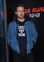 Ryan Gosling @ the photocall for Alcon Entertainment 'Blade Runner 2049' in association with Columbia pictures domestic distribution by Warner Bros, international distribution by Sony held @ The Colosseum at Caesars Palace.<br /> March 27, 2017 , Las Vegas, USA. # SONY PRESENTATION AT CINEMA CON 2017