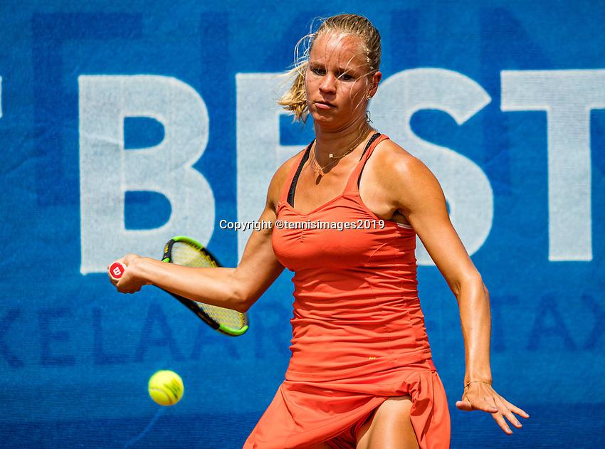 Zandvoort, Netherlands, 8 June, 2019, Tennis, Play-Offs Competition, Dominique Karregat (NED)<br /> Photo: Henk Koster/tennisimages.com