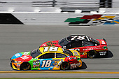 2017 NASCAR Cup - Clash at Daytona<br /> Daytona International Speedway, Daytona, FL USA<br /> Sunday 19 February 2017<br /> Kyle Busch, M&M's Toyota Camry<br /> World Copyright: Matthew T. Thacker/LAT Images<br /> <br /> ref: Digital Image 17DAY1mt1271