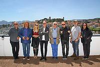 Midge URE, Leslie MANDOKI, Lara MANDOKI, John HELLIWELL, Klaus DOLDINGER, Nick Van EEDE, Chris THOMPSON et Tony CAREY en photocall lors du MIDEM 2017 à Cannes, Palais des Festivals et des Congres, Cannes, Sud de la France, mercredi 7 juin 2017. Philippe FARJON / VISUAL Press Agency