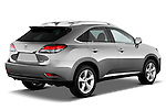 Passenger side rearthree quarter view of a 2013 Lexus RX 350 ..