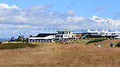 General view of the 9th hole and clubhouse during round two of the 2016 Aberdeen Asset Management Scottish Open played at Castle Stuart Golf Golf Links from 7th to 10th July 2016: Picture Stuart Adams, www.golftourimages.com: 08/07/2016