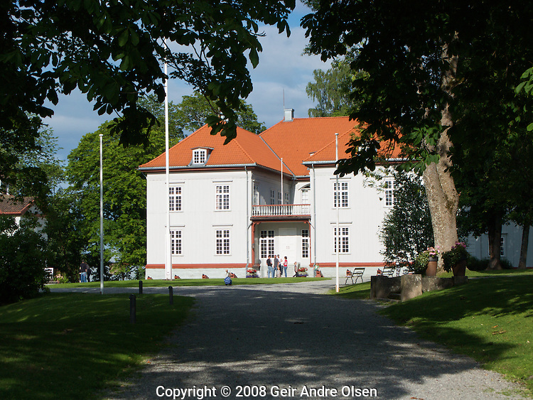 The Eidsvoll building, where Norway declared independence and the constitution was signed on May 17th 1814, just north of the capital Oslo.