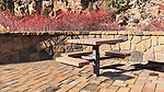 Picnic Table.  Riverbend Park, on the Deschutes River in Bend, Oregon.  Hiking, kayaking, swimming, and a wilderness feel right in town!