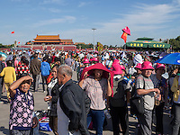 Auf em TianAnMen-Platz, Peking, China, Asien<br /> On TianAnMen square, Beijing, China, Asia