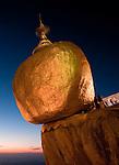 Kyaiktiyo Pagoda, Mon State, Myanmar.
