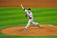 8 June 2010: Pittsburgh Pirates' pitcher Evan Meek on the mound against the Washington Nationals at Nationals Park in Washington, DC. The Nationals defeated the Pirates 5-2 in the series opener where pitching sensation Stephen Strasburg made his Major League debut, striking out 14 batters and notching his first win in the majors. Mandatory Credit: Ed Wolfstein Photo