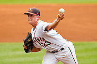 Starting pitcher Danny Hultzen #23 of the Virginia Cavaliers in action against the Florida State Seminoles during the Championship Game of the 2011 ACC Baseball Tournament at the Durham Bulls Athletic Park on May 29, 2011 in Durham, North Carolina.  The Cavaliers defeated the Seminoles 7-2.  Photo by Brian Westerholt / Four Seam Images