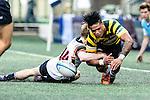 HKRU Men's Premiership League 2016-17 match between Natixes HKFC and Herbert Smith Freehills HKCC on January 7, 2016 in Hong Kong, Hong Kong. Photo by Marcio Rodrigo Machado / Power Sport Images