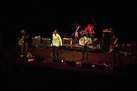 Pictured L-R: Mike Randle, Arthur Lee, David Chapple, David Green and Rusty Squeezebox 20 March 2004<br /> Re: Love with Arthur Lee at the Brycheiniog Theatre in Brecon, Powys, Wales, UK