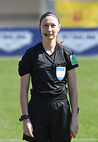 20190301 - LARNACA , CYPRUS : assistant referee Sian Masseypictured during a women's soccer game between Finland and Czech Republic , on Friday 1 March 2019 at the AEK Arena in Larnaca , Cyprus . This is the second game in group A for Both teams during the Cyprus Womens Cup 2019 , a prestigious women soccer tournament as a preparation on the Uefa Women's Euro 2021 qualification duels. PHOTO SPORTPIX.BE   DAVID CATRY