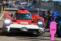 #709 GLICKENHAUS RACING (USA) GLICKENHAUS 007 LMH HYPERCAR - RYAN BRISCOE (USA)/ ROMAIN DUMAS (FRA) /RICHARD WESTBROOK (GBR)