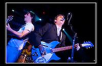 Chris Pope, Buddy Ascott & Billy Hassett - The Chords - The Garage, Highbury corner, Islington, London N1 - 21st August 2010