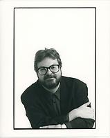 FILE PHOTO - Michel Tremblay<br />  vers 1985<br /> <br /> PHOTO :   Agence quebec Presse