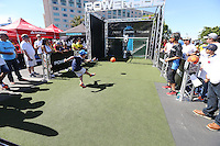 Santa Clara, CA - Friday June 03, 2016: Powerade Booth prior to a Copa America Centenario Group A match between United States (USA) and Colombia (COL) at Levi's Stadium.