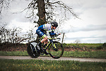 Aime De Gendt (BEL) Circus-Wanty Gobert in action during Stage 4 of the 78th edition of Paris-Nice 2020, and individual time trial running 15.1km around Saint-Amand-Montrond, France. 11th March 2020.<br /> Picture: ASO/Fabien Boukla | Cyclefile<br /> All photos usage must carry mandatory copyright credit (© Cyclefile | ASO/Fabien Boukla)