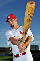 Mar 01, 2010; Jupiter, FL, USA; St. Louis Cardinals infielder Pete Kozma (88) during  photoday at Roger Dean Stadium. Mandatory Credit: Tomasso De Rosa/ Four Seam Images