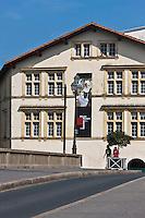 Europe/France/Aquitaine/64/Pyrénées-Atlantiques/Pays-Basque/Bayonne: Maison dite de Dagourette ou Musée basque