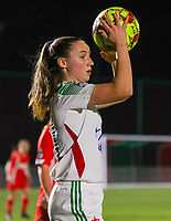 Estee Cattoor (11 OHL) with the ball during a female soccer game between Oud Heverlee Leuven and Standard Femina De Liege on the 10th matchday of the 2020 - 2021 season of Belgian Womens Super League , sunday 20 th of December 2020  in Heverlee , Belgium . PHOTO SPORTPIX.BE   SPP   SEVIL OKTEM