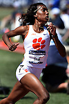 13 JUNE 2015: Natoya Goule of Clemson runs int the Women's 800 meters during the Division I Men's and Women's Outdoor Track & Field Championship held at Hayward Field in Eugene, OR. Steve Dykes/ NCAA Photos