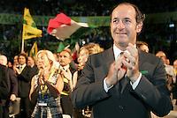 Il Presidente della Regione Veneto Luca Zaia.Coldiretti - Assemblea Nazionale 2010..Roma, 2 Luglio 2010..Photo Serena Cremaschi Insidefoto