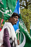 19.05.2013 - Pakistani Protest Outside Downing Street