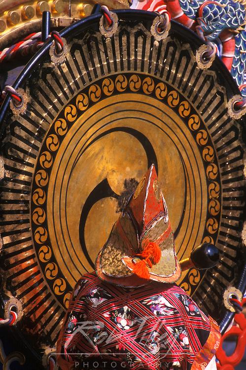 Autumn Festival (Aki Matsuri) Drummer, Meiji Shrine, Tokyo, Japan