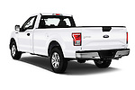 Car pictures of rear three quarter view of 2016 Ford F 150 XL 2 Door Pickup Angular Rear