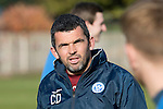 St Johnstone Training….28.10.16<br />Assistant Manager Callum Davidson pictured during training this morning at McDiarmid Park ahead of tomorrow's game against Partick Thistle.<br />Picture by Graeme Hart.<br />Copyright Perthshire Picture Agency<br />Tel: 01738 623350  Mobile: 07990 594431