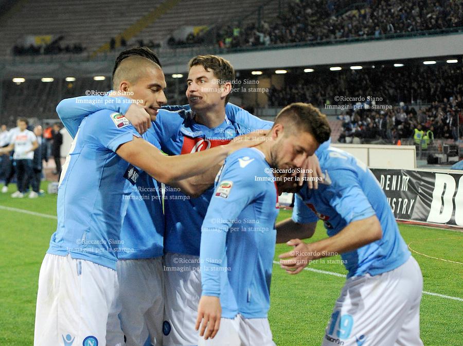 - NAPOLI 30 MAR  -  Stadio San Paolo    Napoli - Juventus<br />  gol di mertens